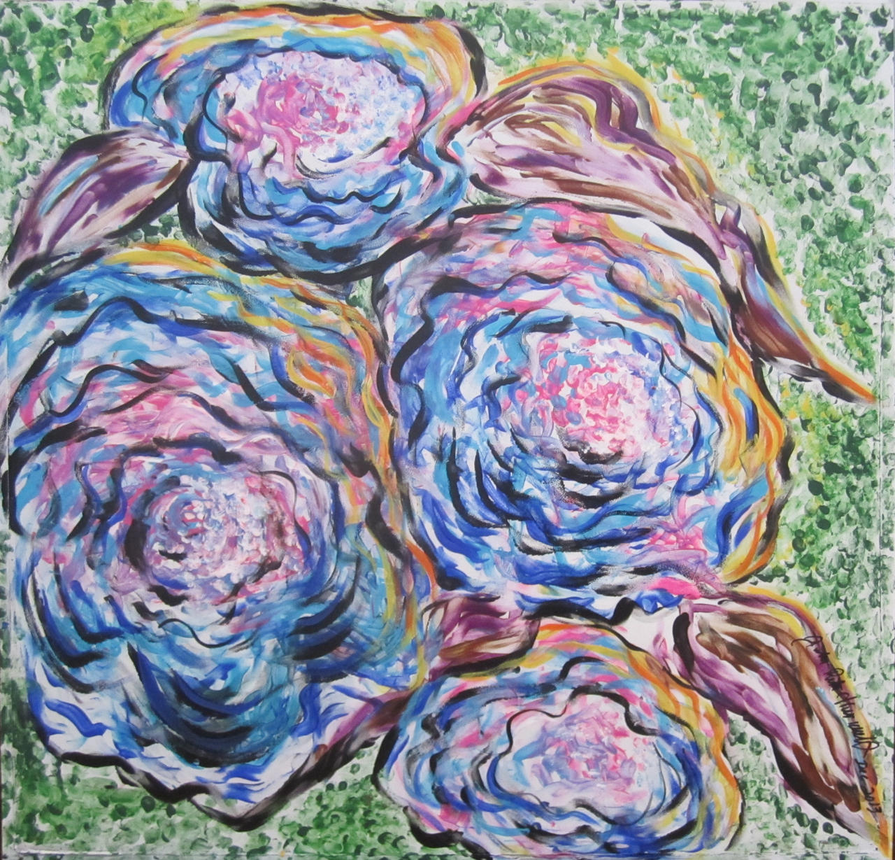 Rainbow Roses by juliarita