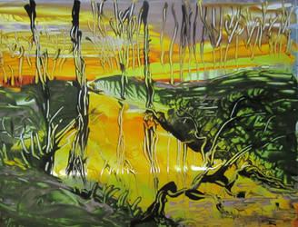 Yellow River Marsh by juliarita