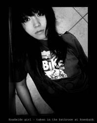 bathroom roadside girl - me by malicent