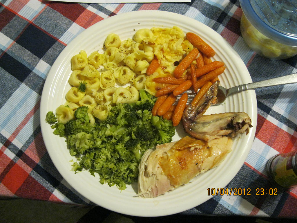 roasted chicken dinner by modestkraut1291
