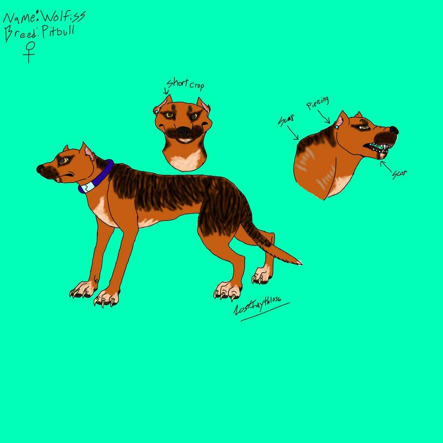 red brindle pitbull by Lostfayth1056 on DeviantArt