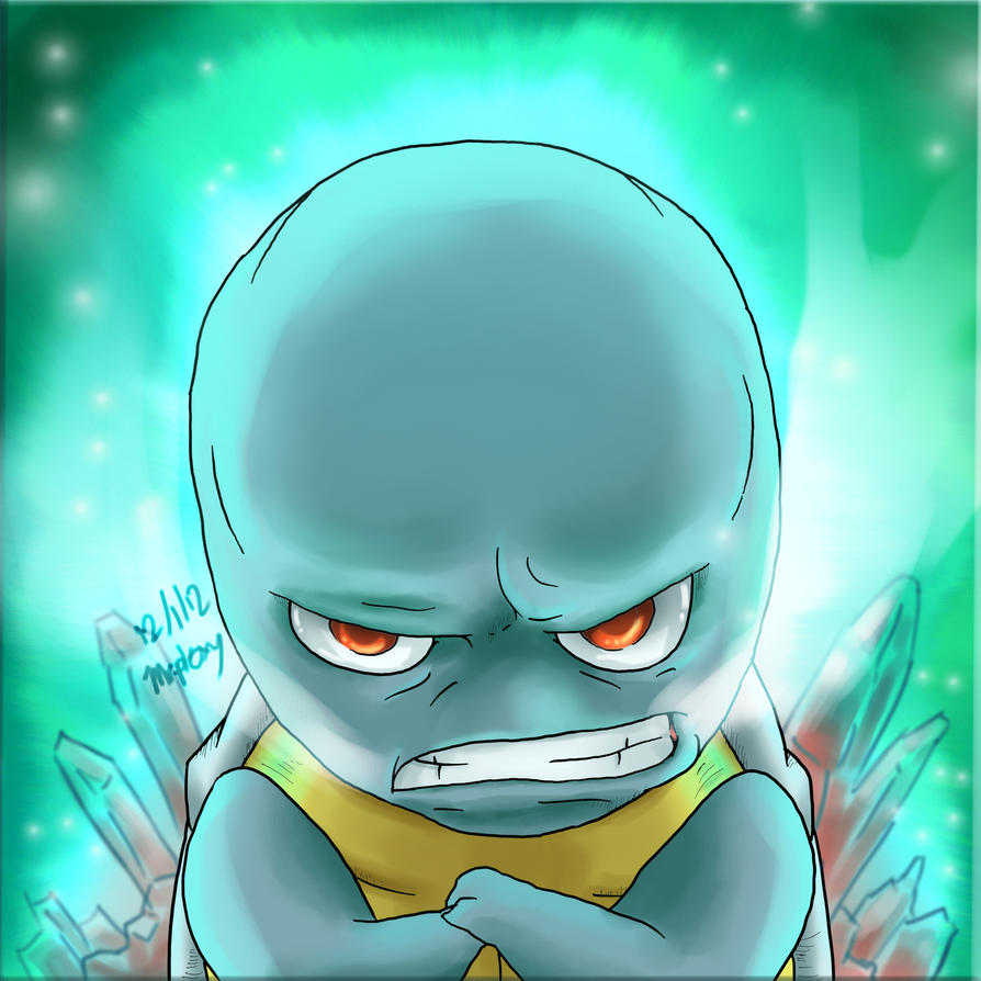 Squirtle is Cold by MisterPloxy
