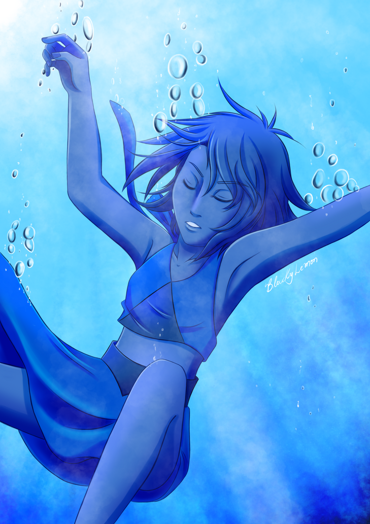 Lapis Lazuli, you fled into the bottom of the sea~