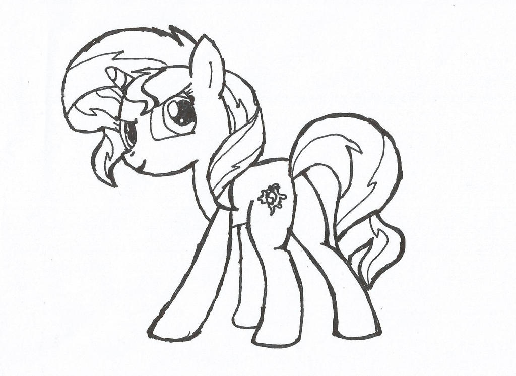 sunset shimmer coloring pages - photo#5