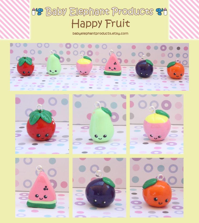 .: Happy Fruit :. by moofestgirl