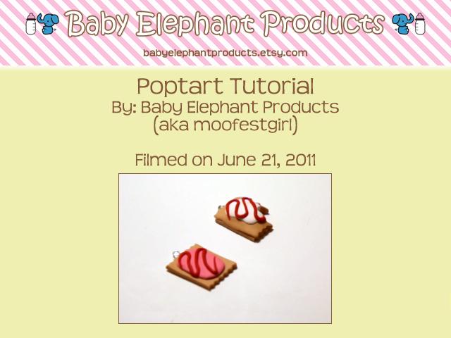 .: Poptart Video Tutorial :. by moofestgirl
