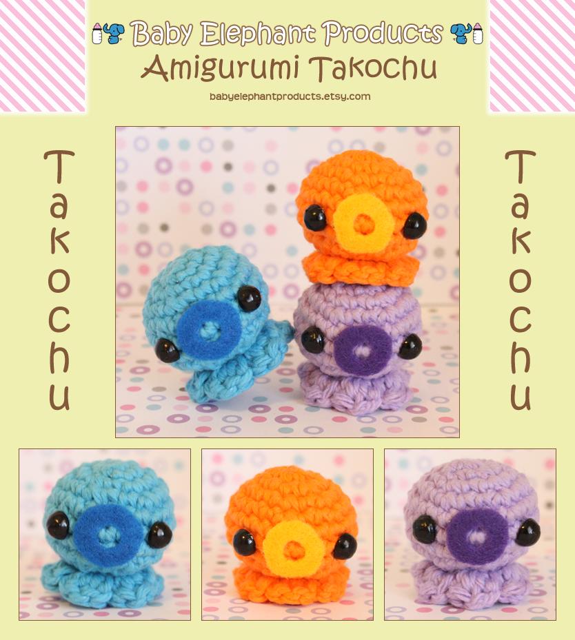 .: Amigurumi Takochu :. by moofestgirl