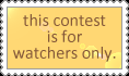 .: Watchers Only Stamp :. by moofestgirl