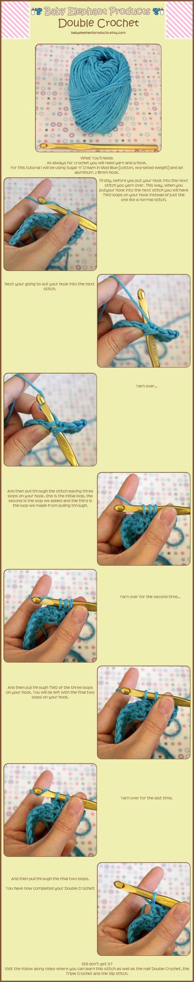 Double Crochet Tutorial by moofestgirl