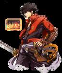 Shimazu Toyohisa (Drifters) Render