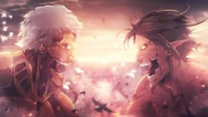 Attack on Titan 2 Season Wallpaper