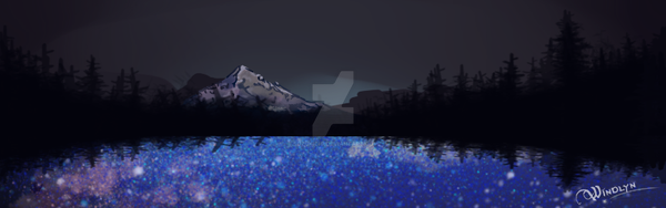 Star Pond by suzukichi