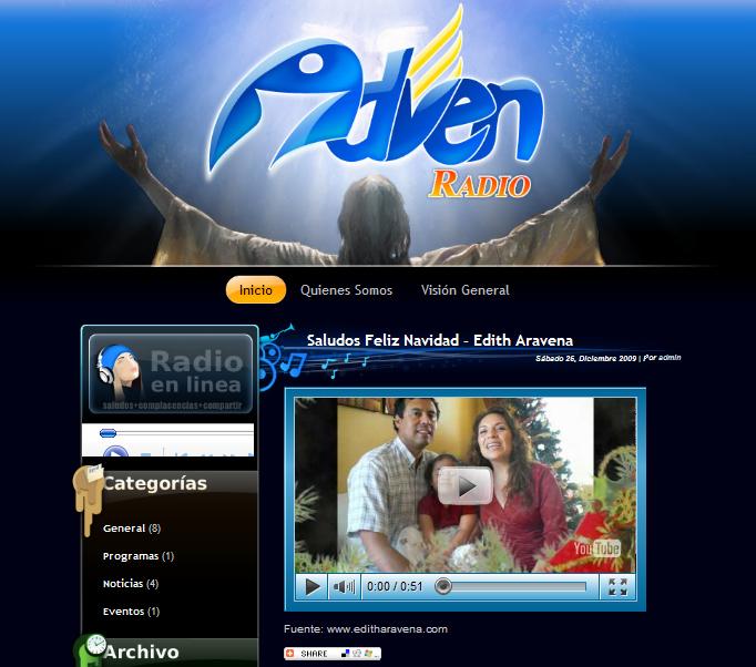 Wordpress Theme Radio by soygcm on DeviantArt