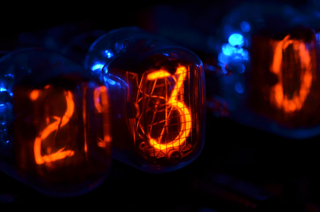 Nixie Tube Clock - Macro by Dragon181