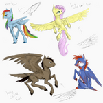 Pegasus stuffs
