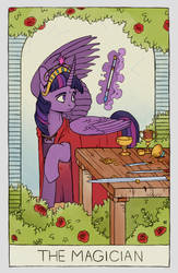 Twilight Sparkle: The Magician by Iguanodragon