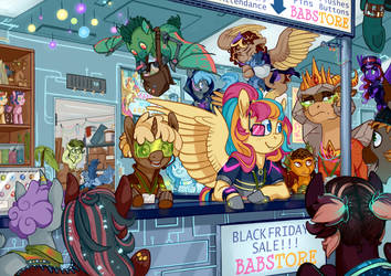 BABSCon - Black Friday Sale Announcement by Iguanodragon