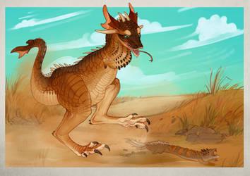 Drago Kangaroo by Iguanodragon