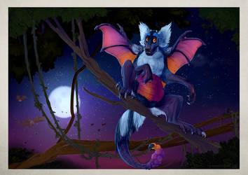 Drago Lemur by Iguanodragon