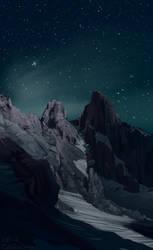 Landscape Study 3 by Iguanodragon