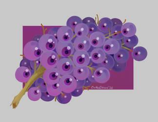 Spooky Grapes