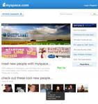 Myspace Homepage Design