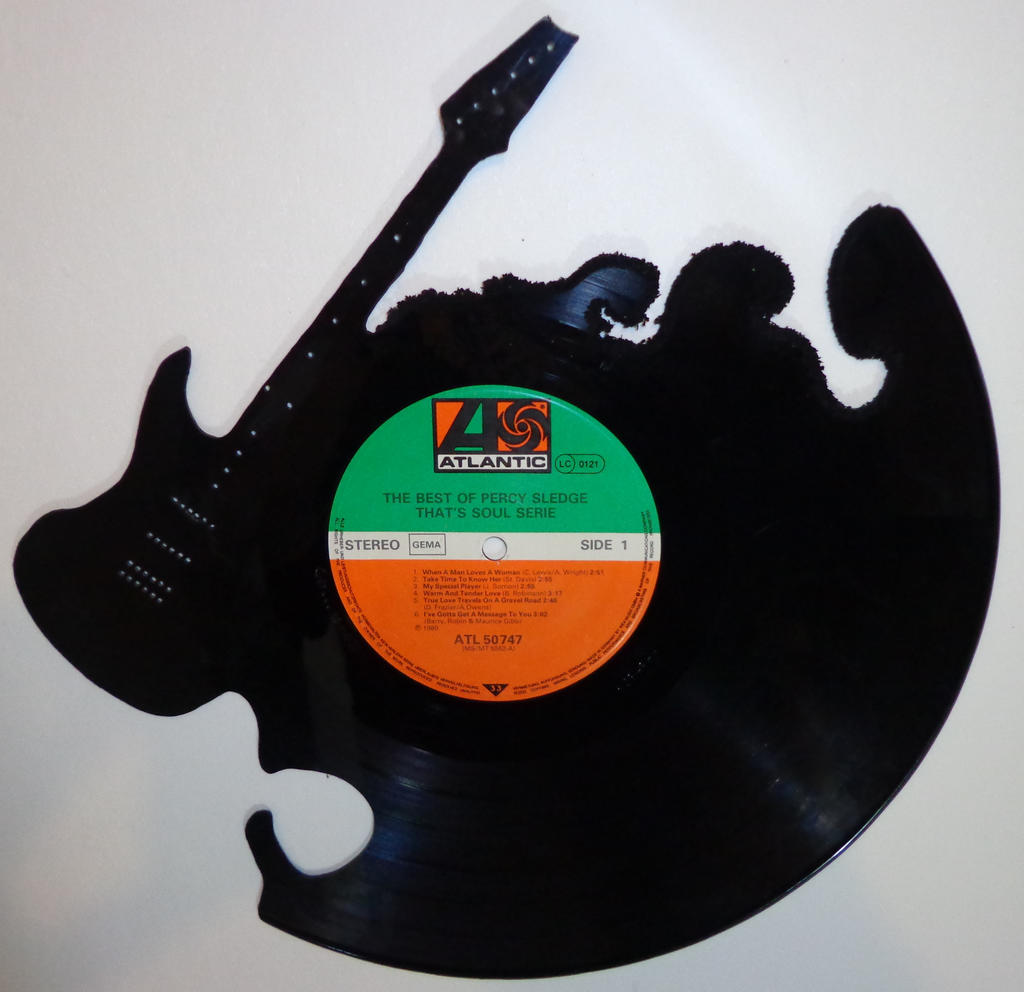 #002 - Guitar Vinyl record art