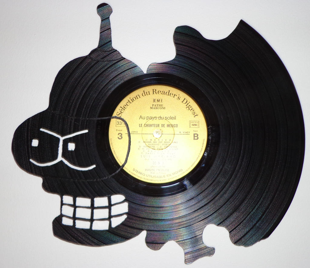 004 bender vinyl record art by cb375 on deviantart