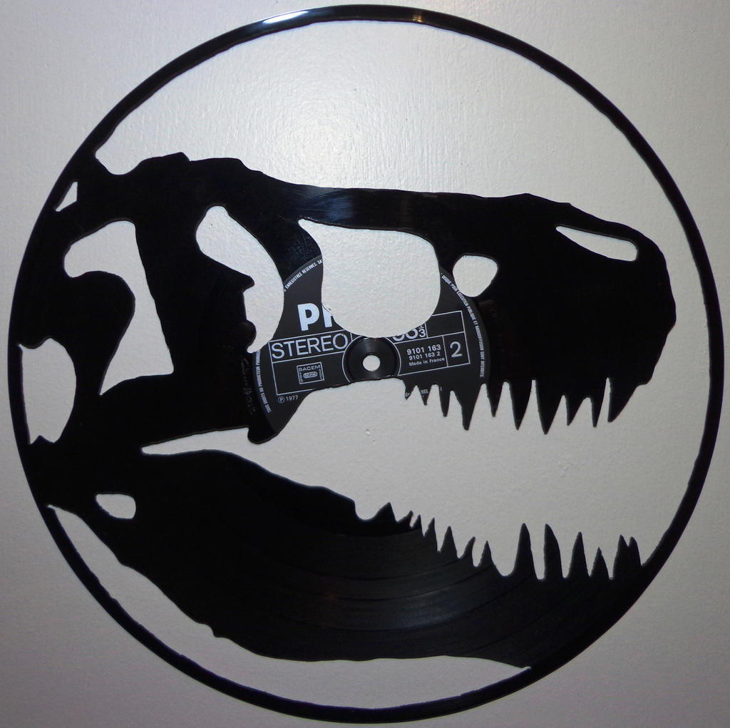 012 dino vinyl record art by cb375 images frompo