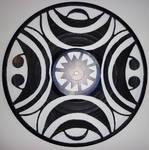 Abstract Vinyl Record Art