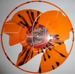 Handmade Vinyl Record Art - Daft Punk