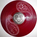 handmade Vinyl Record Art - Abstract II