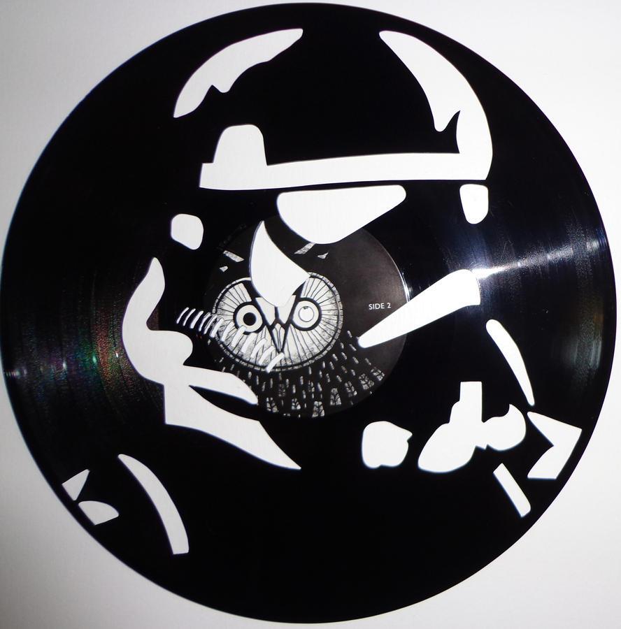 how to make vinyl artwork