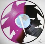Handmade Vinyl Record Art -  2D, Gorillaz