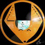 Handmade Vinyl Record Art -  Foxy