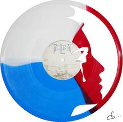 Handmade Vinyl Record Art - Marianne by Cb375