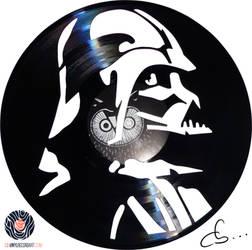 Handmade Vinyl Record Art - Darth Vader by Cb375