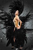 Black Dress by ghostpavo