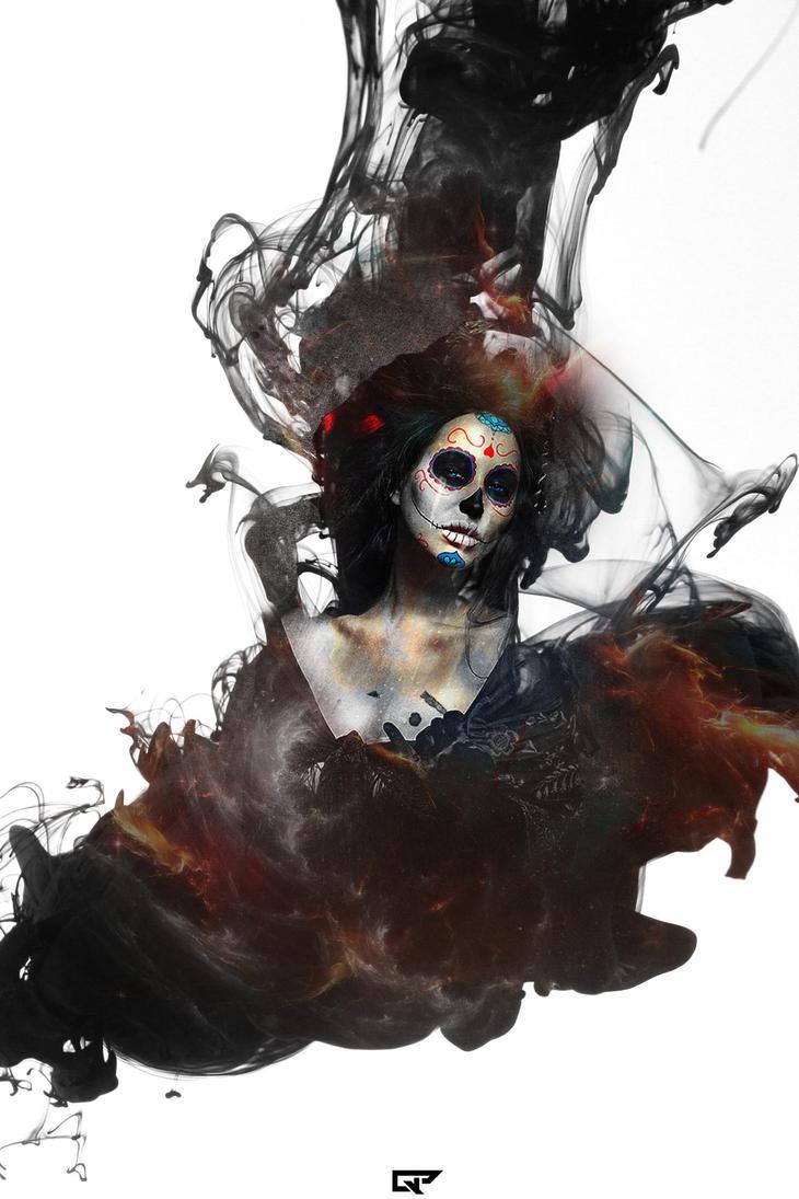La Santa Muerte by ghostpavo