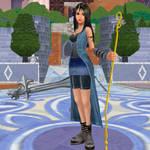 Rinoa of Kingdom Hearts