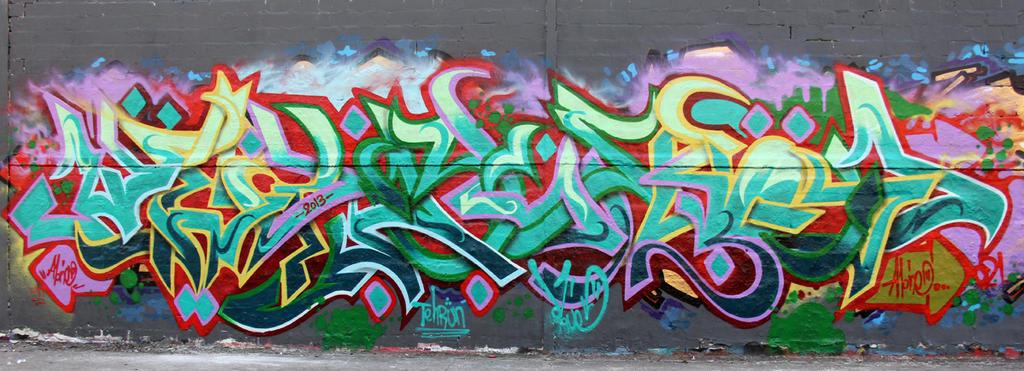 Persian Graffiti by Kolahstudio