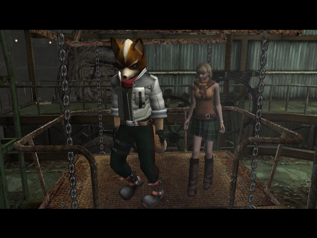 Resident evil 4 pc Fox Mccloud (mod) by chacs