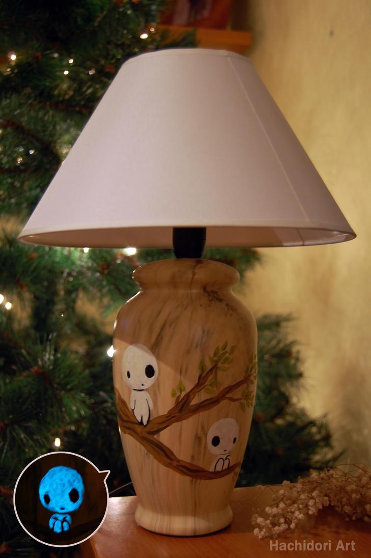 Kodama's lamp by alinsa