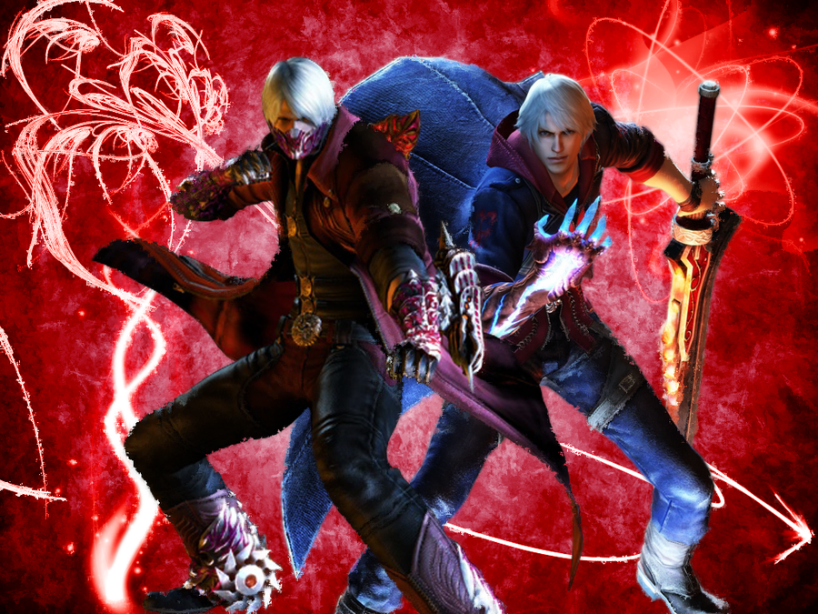 Devil may cry 4 wallpaper by pedroaf on deviantart devil may cry 4 wallpaper by pedroaf voltagebd Images