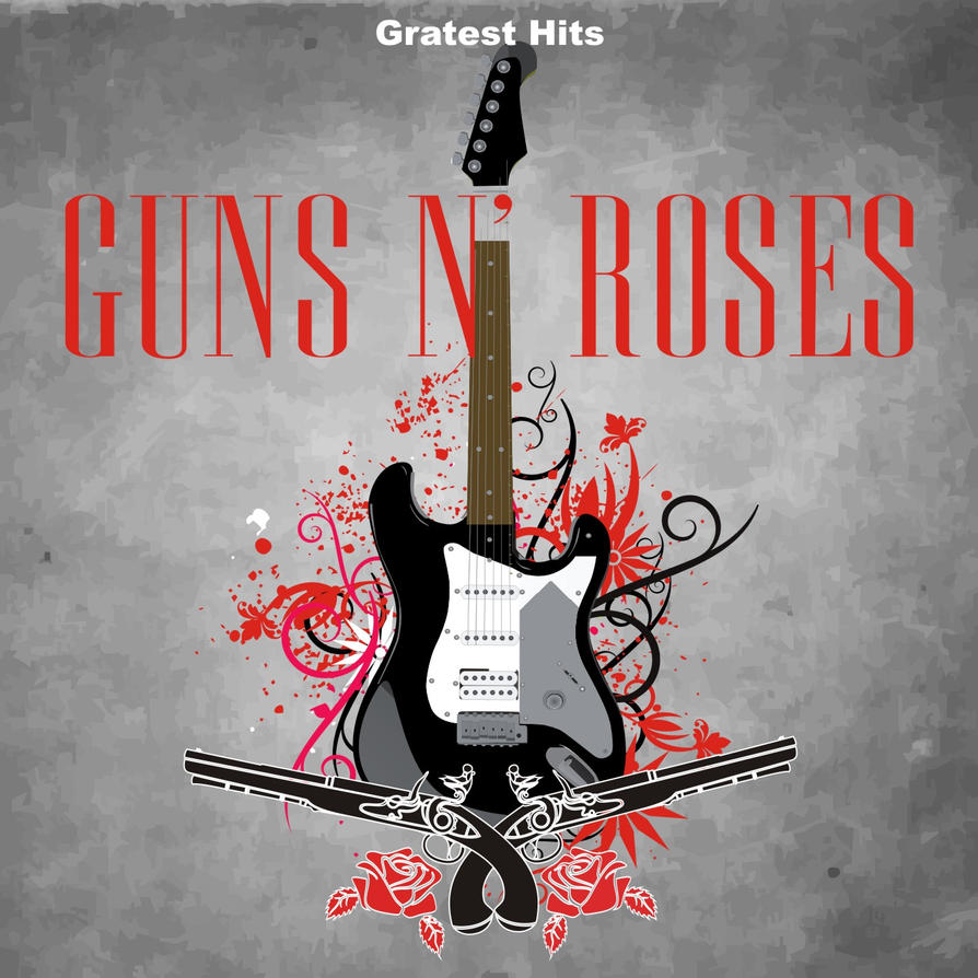 Greatest Hits Guns N Roses: Guns N' Roses Capa By Pedroaf On DeviantArt