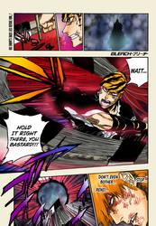 Renji attacking Yhwach (BLEACH 681)