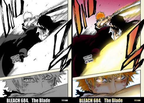 Yhwach HIT with Getsuga (Bleach Chapter 684)