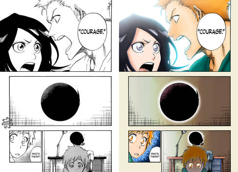 Ichigo and Rukia [FINAL Bleach Chapter]