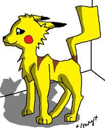 Pikachu-Wolf