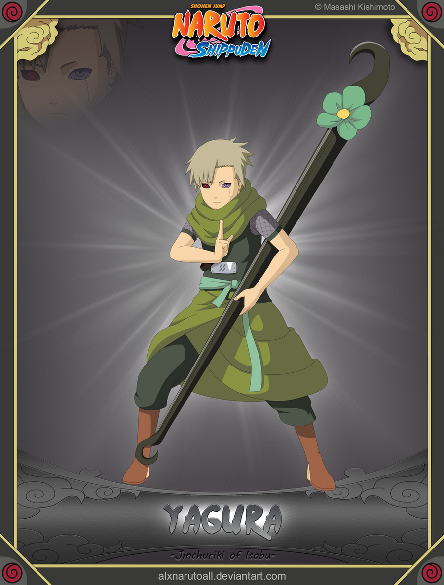 Yagura -Jinchuriki of Isobu- by alxnarutoall on DeviantArt Yagura Three Tails